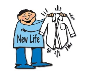 New Life Cleaners and Laundry Logo