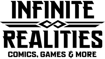 Infinite Realities - Comics, Games, & More Logo