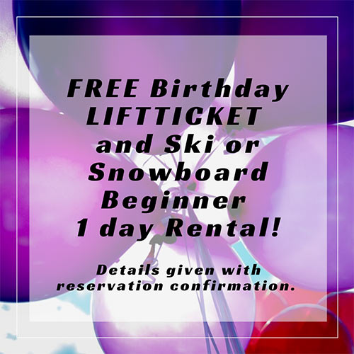 Free Birthday Lift Ticket