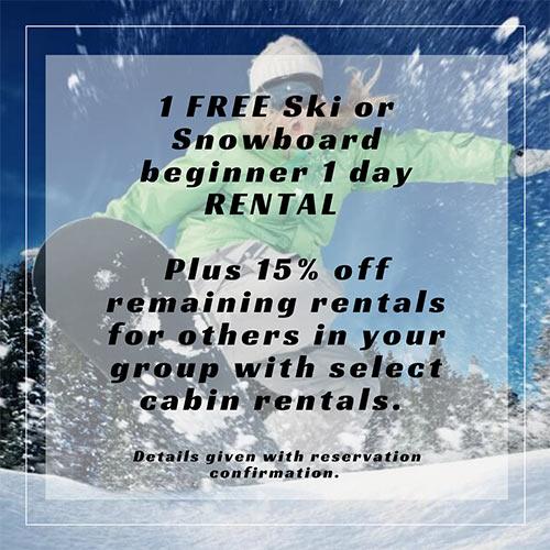 1 Free Ski Rental