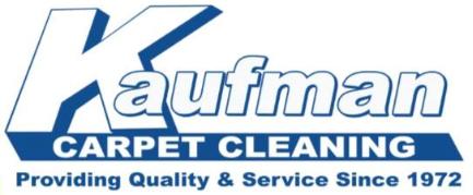 Kaufman Carpet Cleaning Logo