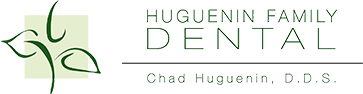 Huguenin Family Dental Logo