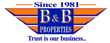 B&B Properties Logo