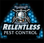 Relentless Pest Control Logo