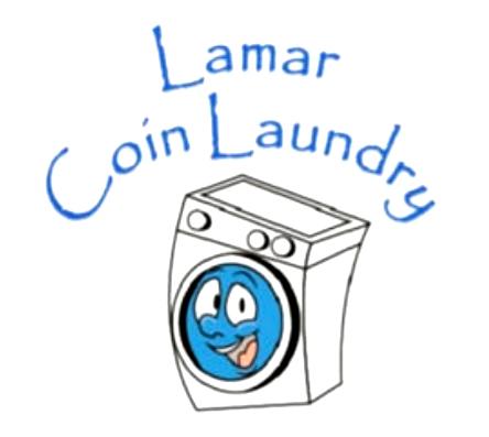 Lamar Coin Laundry Logo