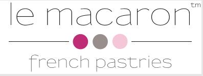 Le Macaron French Pastries Canton Logo