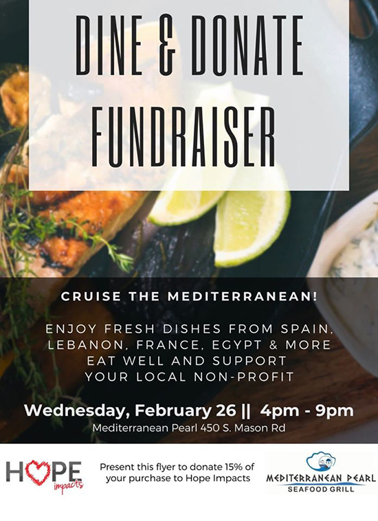 Dine & donate fundraiser