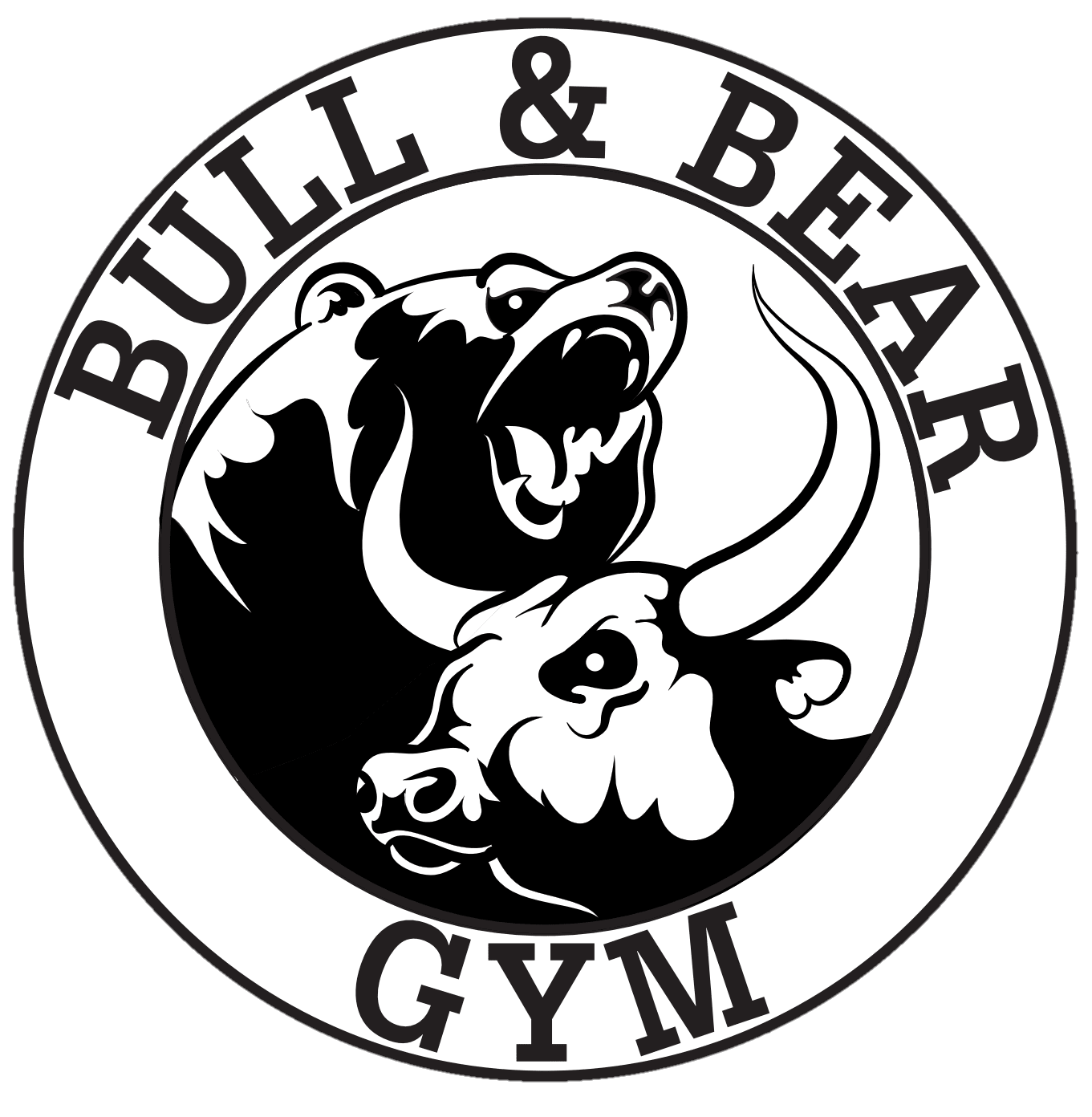 Bull & Bear Gym Logo