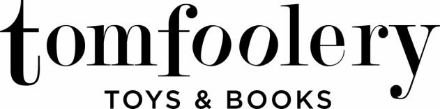 Tomfoolery Toys & Books Logo