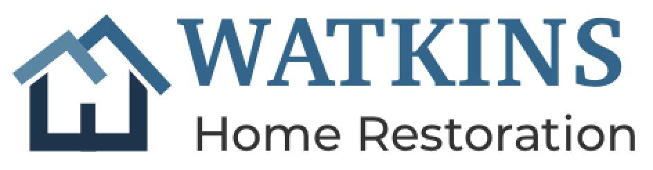 Watkins Home Restoration Logo