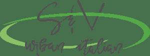 S & V Urban Italian Logo