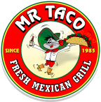 Mr. Taco 2 Fresh Mexican Grill Logo