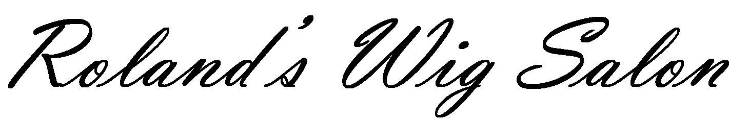Roland's Wig Salon Logo