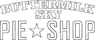 Buttermilk Sky Pie Shop Franklin Logo