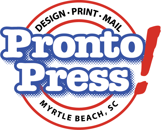 Pronto Press Printing & Signs Logo