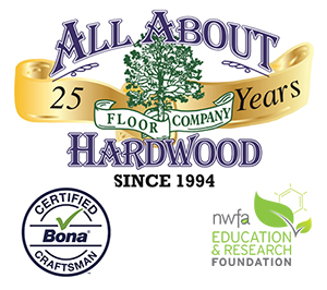 All About Hardwood Floor Company Logo