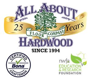 All About Hardwood Floor Company Logo