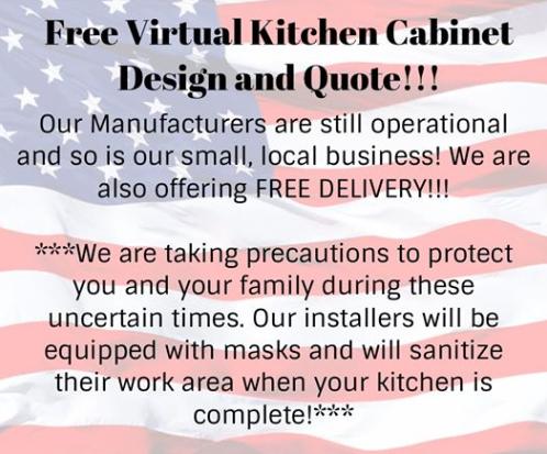 Free virtual kichen cabinet design and quote