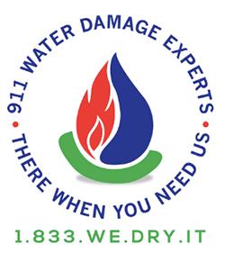911 Water Damage Experts of Cleveland Ohio Logo