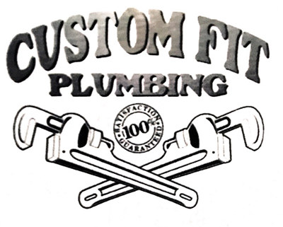 Custom Fit Plumbing Logo