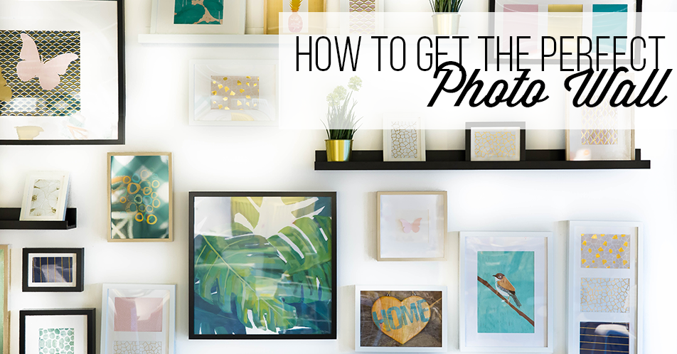 How to Get the Perfect Photo Wall