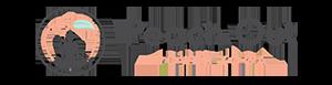 Peach Out Power Yoga Logo