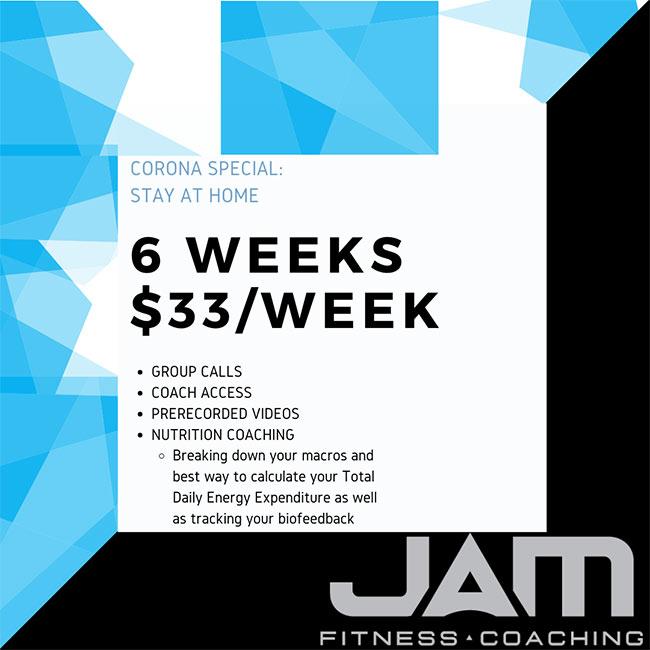 6 weeks 33/week