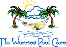 No Worries Pool Care Logo