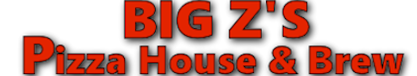 BIG Z's Pizza House & Brew Logo