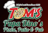 Tom's Papa Dino's Logo