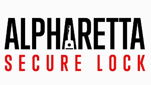 Alpharetta Secure Lock Logo