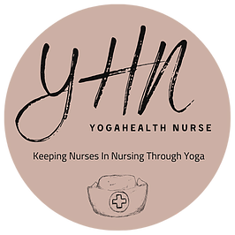 YogaHealth Nurse Logo