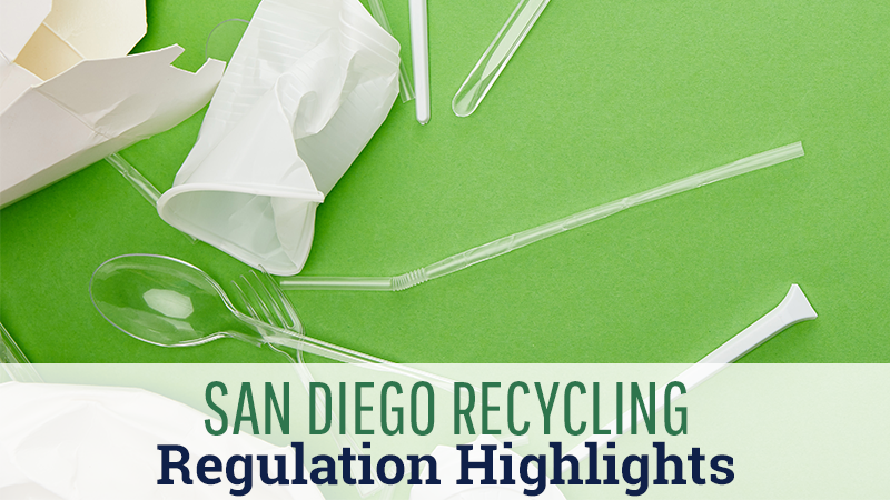 San Diego Recycling Regulation Highlights