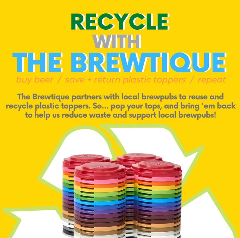Recycle with The Brewtique