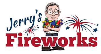 Hamburg Fireworks Display Inc & Jerry's Fireworks Factory Logo