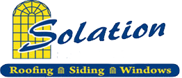 Solation Roofing, Siding And Windows Logo