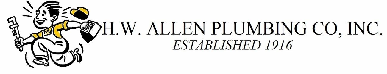 HW Allen Plumbing Co, Inc. Logo
