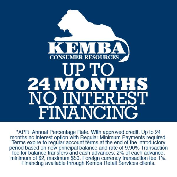 24 Months - No Interest Financing