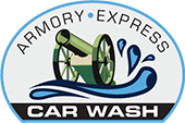 Armory Express Car Wash Logo