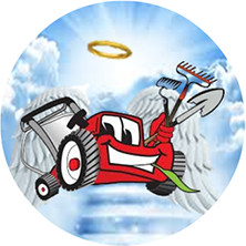Heavenly Lawn Care Service Logo