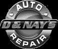 D&Nay's Auto Repair & Sales Logo