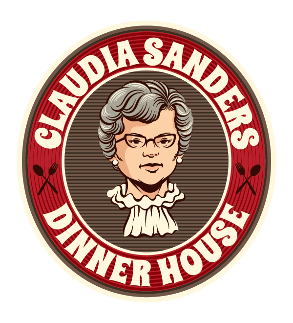 Claudia Sanders Dinner House Logo