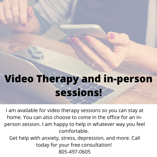 video therapy and in-person therapy