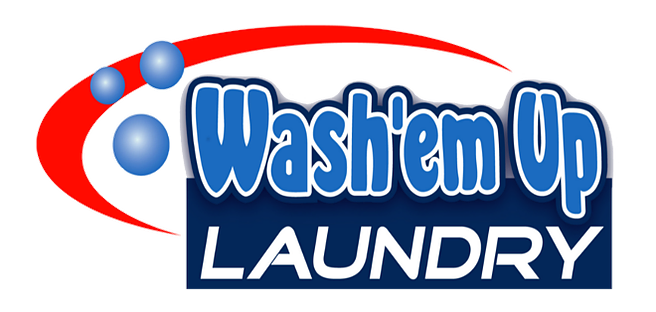 Wash'em Up Laundry #2 Logo