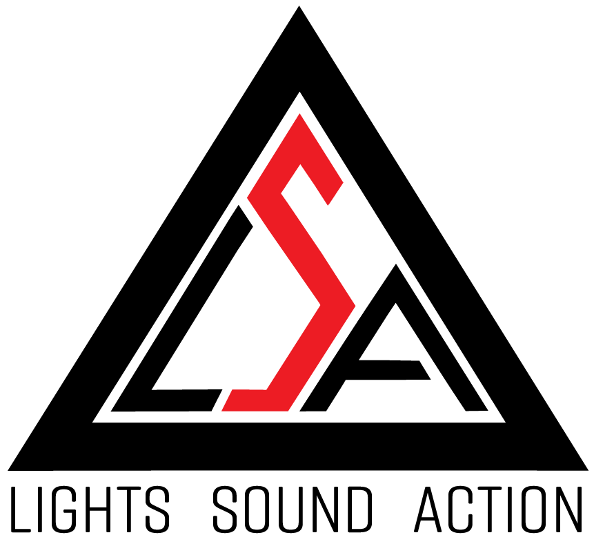Lights Sound Action Logo