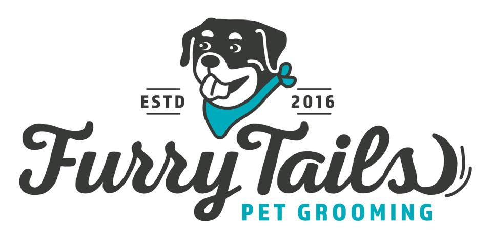 Furry Tails Pet Grooming Logo