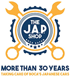The J.A.P Shop Boca Raton Logo