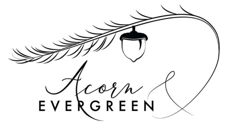 Acorn & Evergreen Floral Studio of Kent Logo