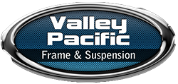Valley Pacific Frame, Suspension & Collision Logo