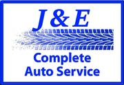 J&E Complete Auto Service Logo